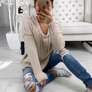 Kallen Sweater in Beige ekattire